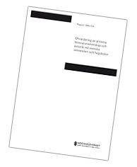 Högskoleverkets rapport