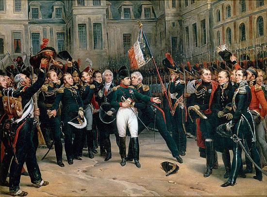 Adieux de Napoleon a la Garde imperiale