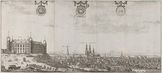 Suecia antiqua et hodierna - Uppsala