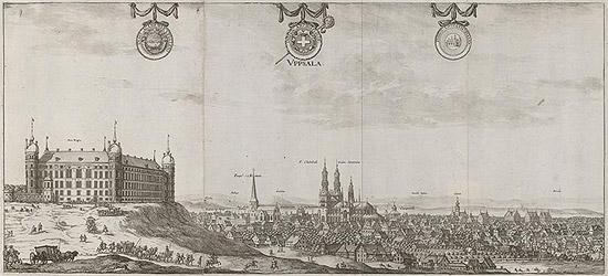Suecia antiqua et hodierna - Uppsala