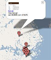Blogg på karta
