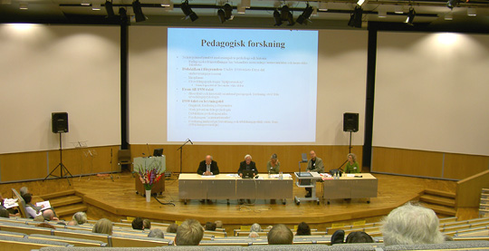 Konferens Pedagogikhistorisk forskning 2006
