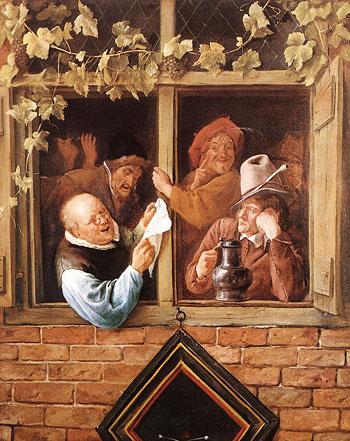 Jan Steen - Retoriker vid ett fönster